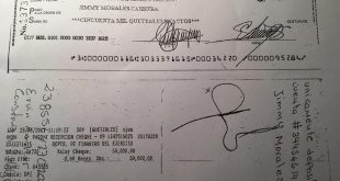 Nómada Presenta el Cheque