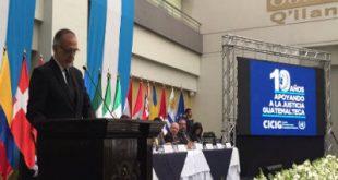 Iván Velásquez Jefe de la CICIG presentó informe anual de labores