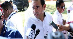 Presidente de Guatemala, Jimmy Morales