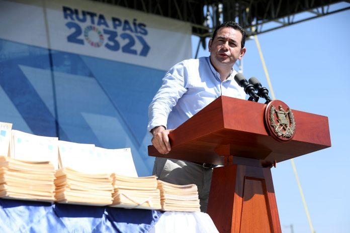 Jimmy Morales Presidente