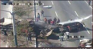 Accidente Impactante en Ruta Interamericana
