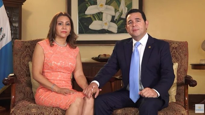 Mensaje del Presidente Jimmy Morales a la Nación