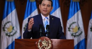 Presidente Jimmy Morales felicita a Alejandro Giammattei