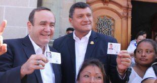 Alejandro Giammattei nuevo presidente