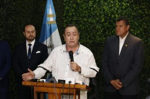 Giammattei asegura que el 80% de la droga que pasa por Centroamérica sale de Venezuela. (Foto: Comunicación Alejandro Giammattei)
