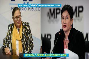 Fiscal General Consuelo Porras Retira seguridad a exfiscal Thelma Aldana