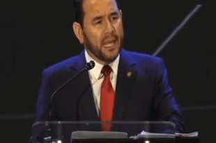 Jimmy Morales en Enade 2019