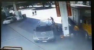 Video Capta el Brutal Asesinato de Empleado de Gasolinera