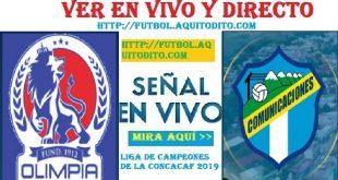 VER Comunicaciones vs Olimpia EN VIVO