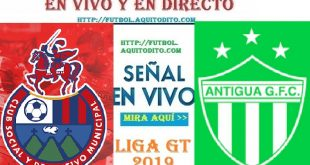 VER EN VIVO Municipal vs Antigua GFC
