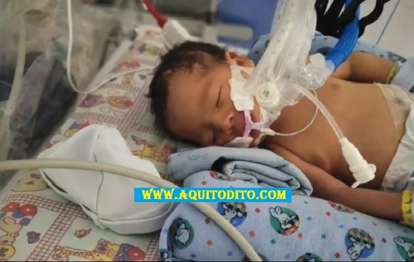 AYUDEMOS al Bebé Mateo de cuatro meses que necesita una operación a corazón abierto