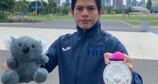 Jorge Vega gana medalla de plata