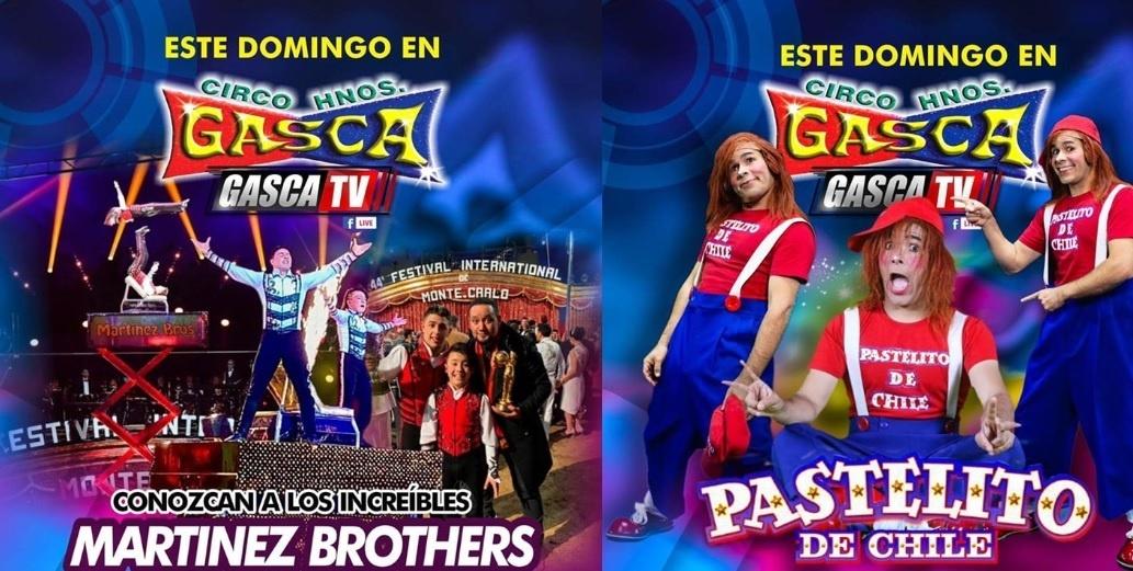 Circo Hermanos Gasca presentan show este domingo 26 de abril EN VIVO