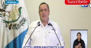 Presidente de Guatemala Alejandro Giammattei impone nuevas restricciones para Semana Santa por Coronavirus