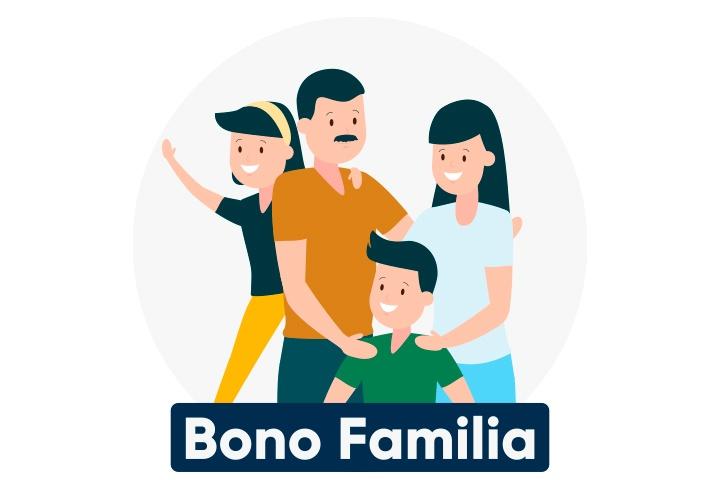 Bono Familia inicia con su segundo pago