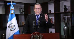 Presidente Alejandro Giammattei anuncia Disposiciones