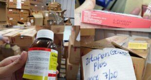 medicamento vencido en el Hospital Parque de la Industria