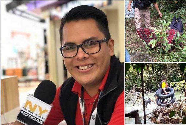 Comunicador Nelson Yalibat falleció Ahogado