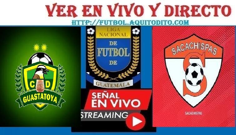 Guastatoya vs Sacachispas EN VIVO