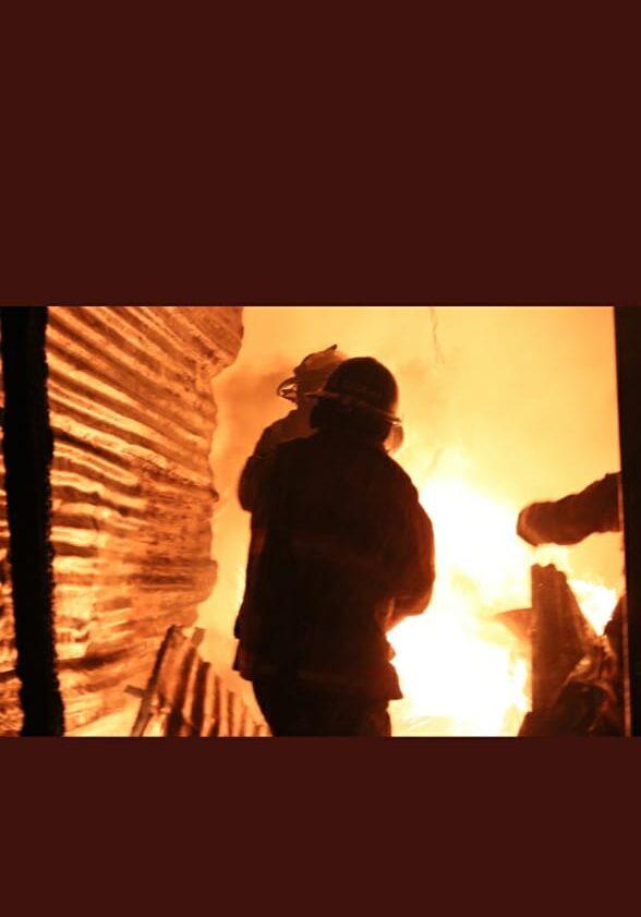 Se reporta incendio en zona 7 Capitalina