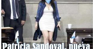 Diputada Patricia Sandoval nueva Jefa de Bancada de FCN