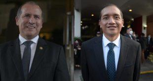 Néster Vásquez y Francisco Rivas
