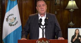 Presidente Alejandro Giammattei nuevas disposiciones abril 2021