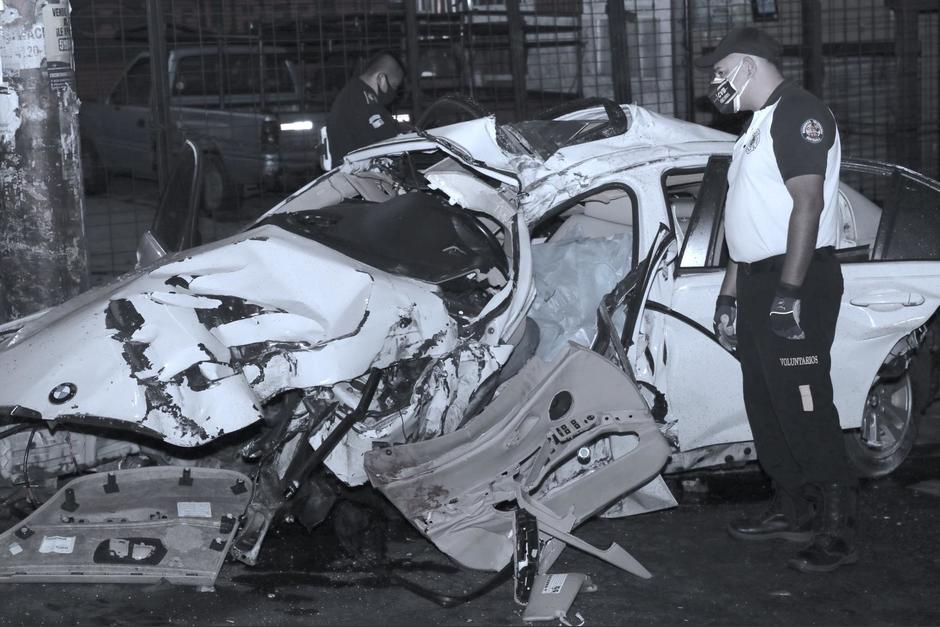 fatal accidente de esta madrugada en Ciudad San Cristóbal