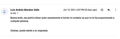 Contacto para la Plaza del Gobierno