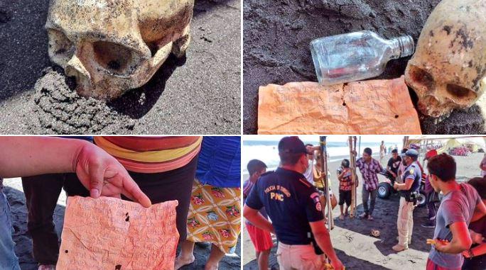 Encuentran Cráneo en Puerto de San José